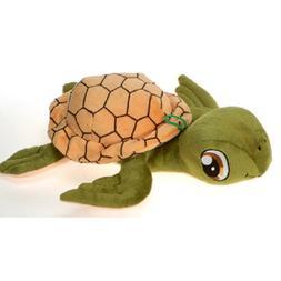 Fiesta Toys Green Turtle with Big Eyes Plush Stuffed Animal