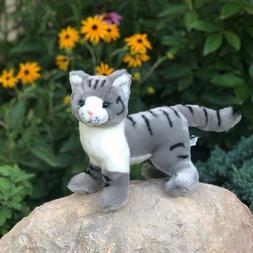Auswella Wholesale Plush® Grey Cat Galaxy- 12 Inch Stuffed