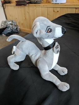 Greyhound Dog plush Whippet Stuffed Animal Jenna Marbles Ker