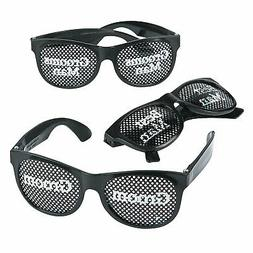 grooms party pinhole glasses apparel accessories 6