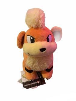 "7"" Growlithe # 58 Official Pokemon Center Plush Dolls Toys S"