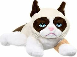 grumpy cat 8 inch laying new w