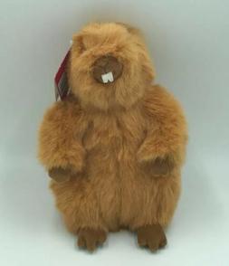 Gund Kohls Cares For Kids Plush  Brown Beaver Woodchuck NWT