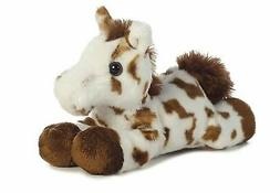 Gypsy Brown Horse Mini Flopsie 8 inch - Stuffed Animal by Au