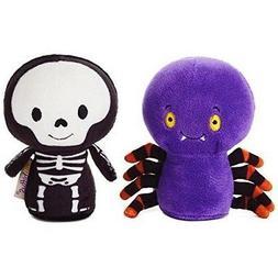 Hallmark Halloween Pals Skeleton & Spider Itty Bitty Stuffed