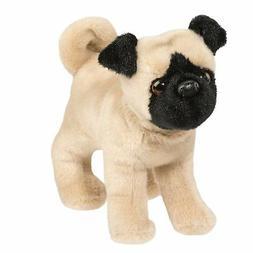"""Hamilton Pug Stuffed Animal 8"""""""