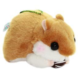 Hamster Plush Cute Stuffed Animal Plushie Amuse Eating Nuts