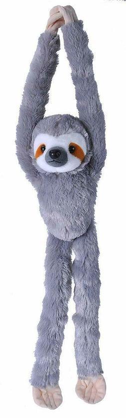 "Hanging 22"" Three Toed Sloth Plush by Wild Republic plush st"