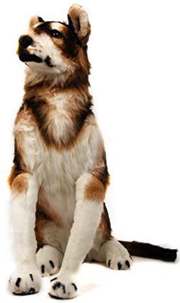 VIAHART Hank The Husky | 3 Foot Tall Big Stuffed Animal Plus