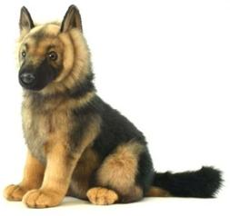 Hansa German Shepard Puppy Plush Animal Stuffed Toy Kids gif