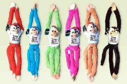 "HAPPY 4TH OF JULY Plush wholesale Toy Hanging Monkey 18"" Sou"