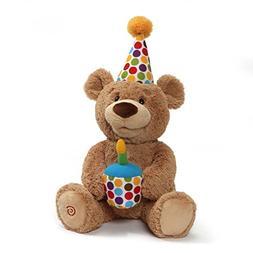 GUND Animated Happy Birthday Teddy Bear Stuffed Animal Plush
