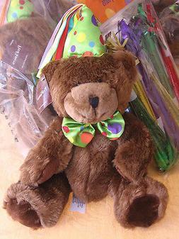 ProFlowers HAPPY BIRTHDAY TEDDY BEAR Choc BROWN PLUSH Stuffe
