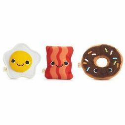Happy Go Luckys Breakfast Buds Mini Stuffed Animals, Set of