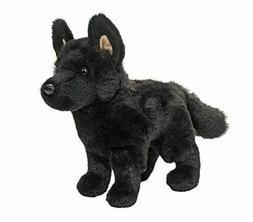 "Douglas Harko Black German Shepherd Plush Toy 8"" Long"