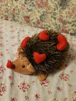 Pier 1 hedgehog hartford valentines day heart stuffed animal