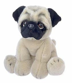"Ganz 12"" Heritage Pug Stuffed Animal,Tan,12 inches"