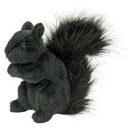 "Hi-Wire plush 6"" tall Black Squirrel Douglas Cuddle stuffed"