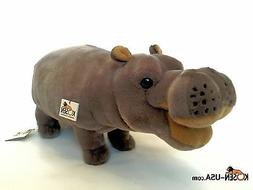 Hippo Kosen Koesen Handmade in Germany Luxury Plush Stuffed