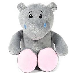 hippo plush stuffed animal