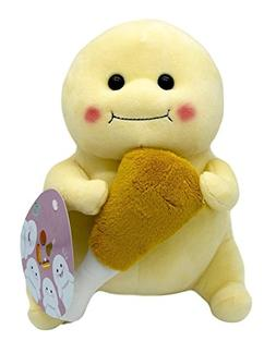 Happy Fat Doll Holding a Chicken Drumstick, Fun & Cute Gift