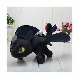 """HTTYD How to Train Your Dragon 2 - 10"""" Toothless Night Fury"""