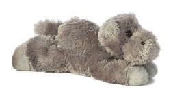 Aurora World Mini Flopsie Howie Grey Hippo Plush Stuffed Ani