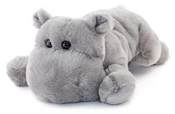huck hippo stuffed animal plush