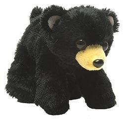 Wild Republic Hug Ems Black Bear Plush Toy