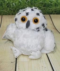 7 Inch Hug Ems Snowy Owl Plush Stuffed Animal by Wild Republ