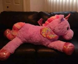 Huge giant Plush Stuffed Animal Life Size Unicorn Gift