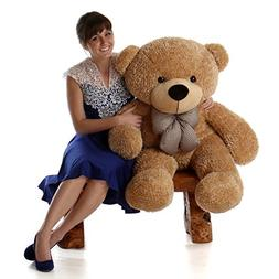 Giant Teddy Brand - 4 Foot Huge Cuddly Stuffed Animal for Gi