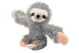 Wild Republic Huggers Sloth Plush, Slap Bracelet, Stuffed An