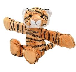 Wild Republic Huggers, Tiger Plush Toy, Slap Bracelet, Stuff