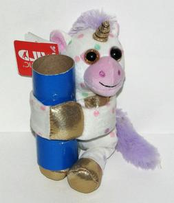 Wild Republic Huggers Unicorn Plush, Slap Bracelet, Stuffed
