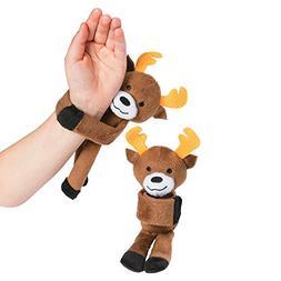 Fun Express - Hugging Stuffed Reindeer - Christmas Item for