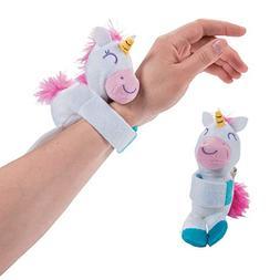 Fun Express - Hugging Stuffed Unicorns - Adorable Item for B