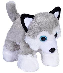 Wild Republic Husky Stuffed Animal Plush Toy