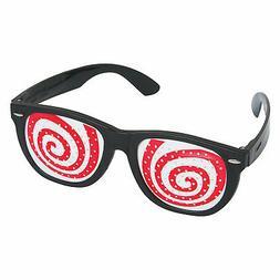 Hypnotic Spiral Pinhole Glasses - Apparel Accessories - 1 Pi