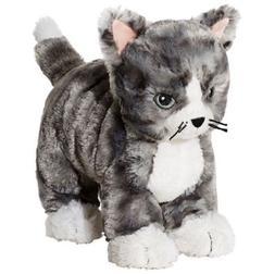 IKEA Kitty Cat Plush Stuffed Animal Soft Toy Gray White Tabb