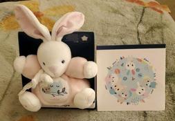 Kaloo Imagine Chubby Rabbit Pink Plush Stuffed Animal New In