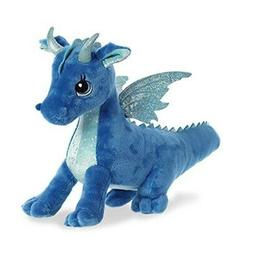 Indigo Dragon 12 Inch  - Stuffed Animal by Aurora Plush