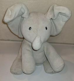 infant baby animated flappy the elephant plush