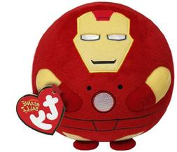 Ty Beanie Ballz Iron Man Plush, Regular