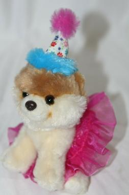 itty bitty boo birthday tutu plush stuffed