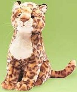 """Fuzzy Town Stuffed Jaguar LL 20"""""""