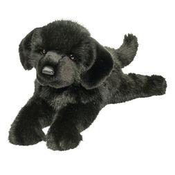 "Jake 13"" Black Lab DELUX Plush Stuffed Animal Dog Douglas la"