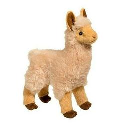 "Douglas Jasper GOLDEN LLAMA 8"" Plush Stuffed Standing Farm A"