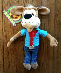"Jasper Jowls 10"" Chuck E Cheese Plush Stuffed Animal Doll 20"