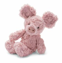 Jellycat Squiggle Pig, Small, 9 inches